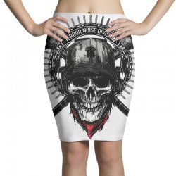 terror noise division Pencil Skirts | Artistshot