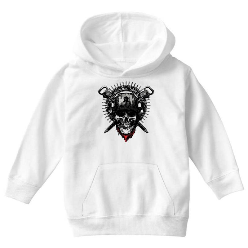 Terror Noise Division Youth Hoodie | Artistshot