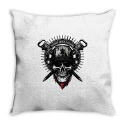 terror noise division Throw Pillow | Artistshot
