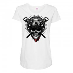 terror noise division Maternity Scoop Neck T-shirt | Artistshot