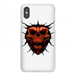 evil face iPhoneX Case | Artistshot