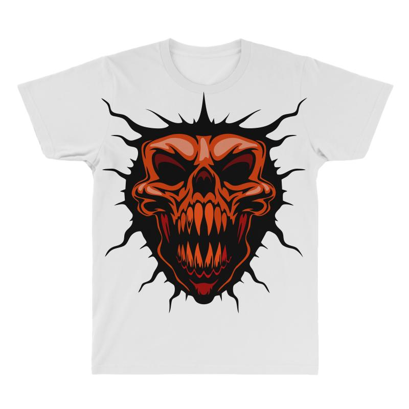 Evil Face All Over Men's T-shirt | Artistshot