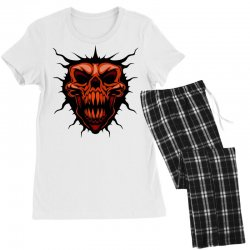 evil face Women's Pajamas Set | Artistshot