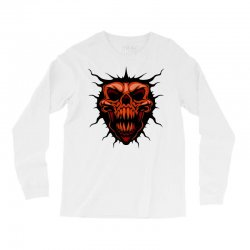 evil face Long Sleeve Shirts | Artistshot