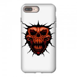 evil face iPhone 8 Plus Case | Artistshot
