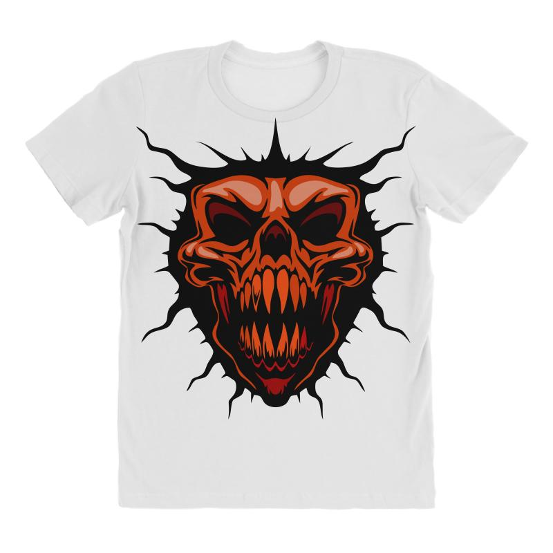 Evil Face All Over Women's T-shirt | Artistshot