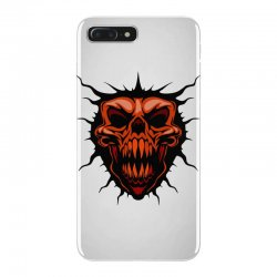 evil face iPhone 7 Plus Case | Artistshot