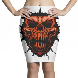 evil face Pencil Skirts | Artistshot