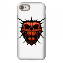 evil face iPhone 8 Case | Artistshot