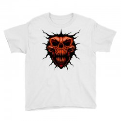 evil face Youth Tee | Artistshot