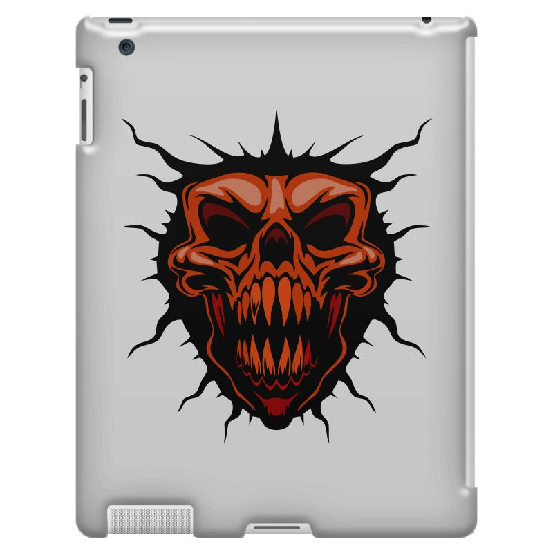 Evil Face Ipad 3 And 4 Case | Artistshot