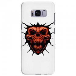 evil face Samsung Galaxy S8 Plus Case | Artistshot