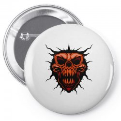 evil face Pin-back button | Artistshot