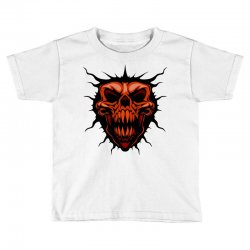 evil face Toddler T-shirt | Artistshot