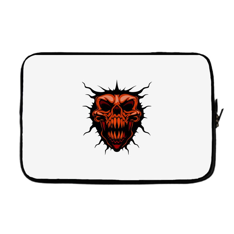 Evil Face Laptop Sleeve | Artistshot