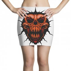 evil face Mini Skirts | Artistshot