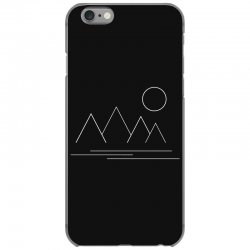 Mountains and Sun iPhone 6/6s Case | Artistshot
