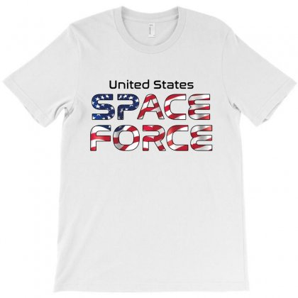 United States Space Force American Flag T-shirt Designed By Bigdlab