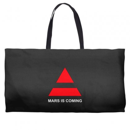 339ca66a894 30 second to mars mars is coming Weekender Totes. killakam