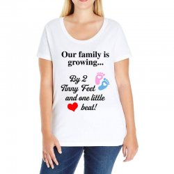 Our Family is Growing Ladies Curvy T-Shirt | Artistshot
