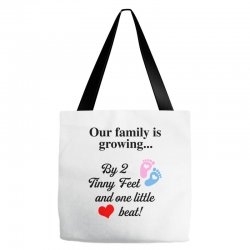 Our Family is Growing Tote Bags | Artistshot