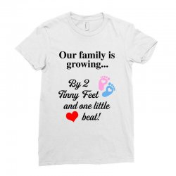 Our Family is Growing Ladies Fitted T-Shirt | Artistshot