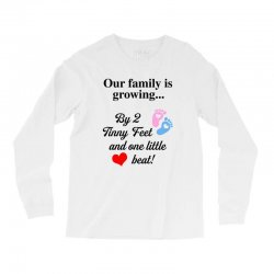 Our Family is Growing Long Sleeve Shirts | Artistshot