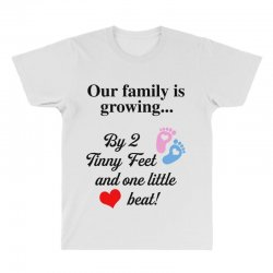 Our Family is Growing All Over Men's T-shirt | Artistshot