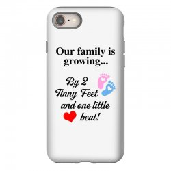 Our Family is Growing iPhone 8 Case | Artistshot