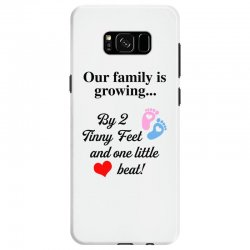 Our Family is Growing Samsung Galaxy S8 Case | Artistshot
