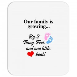 Our Family is Growing Mousepad | Artistshot