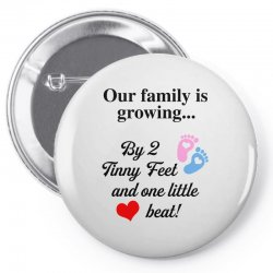 Our Family is Growing Pin-back button | Artistshot