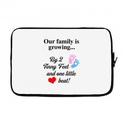 Our Family is Growing Laptop sleeve | Artistshot