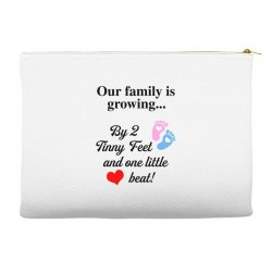 Our Family is Growing Accessory Pouches | Artistshot