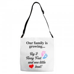 Our Family is Growing Adjustable Strap Totes | Artistshot