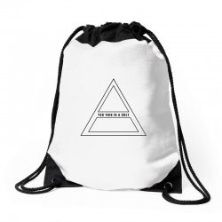 Yes This Is A Cult Drawstring Bags | Artistshot