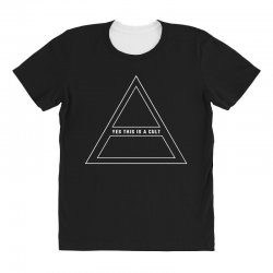 Yes This Is A Cult All Over Women's T-shirt | Artistshot
