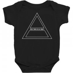 Yes This Is A Cult Baby Bodysuit | Artistshot