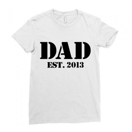 Dad Ladies Fitted T-shirt Designed By Megaagustina