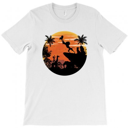 Life Of Leon King T-shirt Designed By Akin
