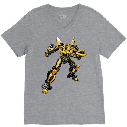 Bumblebee 2 V-neck Tee Designed By Sbm052017