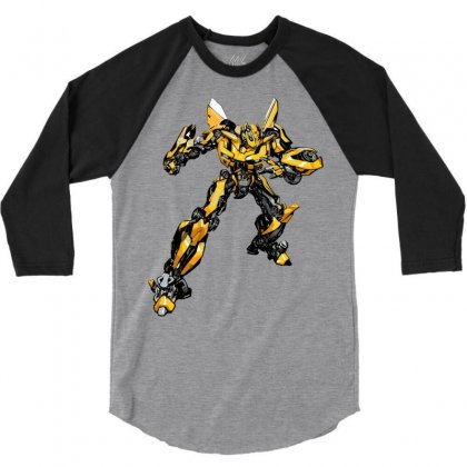 Bumblebee 2 3/4 Sleeve Shirt Designed By Sbm052017