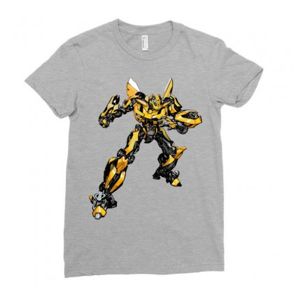Bumblebee 2 Ladies Fitted T-shirt Designed By Sbm052017