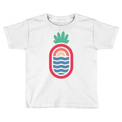 Lineapple Toddler T-shirt Designed By Quilimo