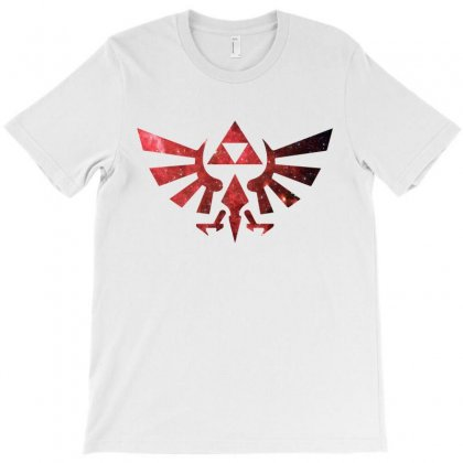 Zelda Galaxy T-shirt Designed By Bigdlab