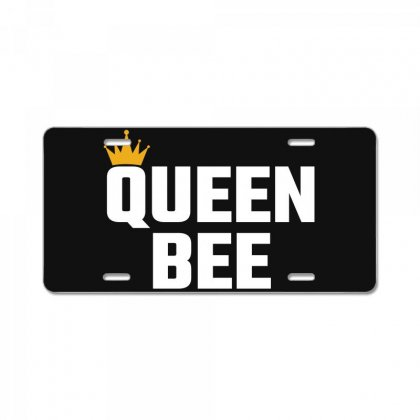 Queen Bee License Plate