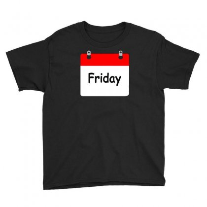 Title Of Day Of The Week Friday Day Of The Week Youth Tee Designed By Aheupote