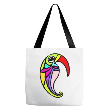 Color Bird Tote Bags Designed By Oz