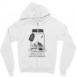 Collect Moments Zipper Hoodie | Artistshot