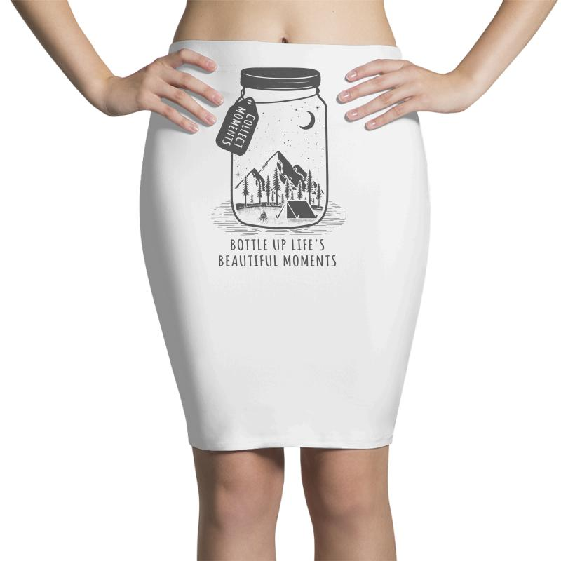 Collect Moments Pencil Skirts | Artistshot